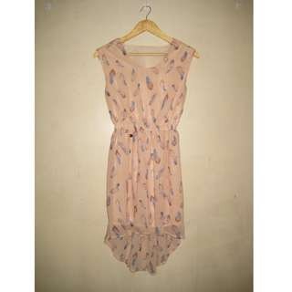 Candie's Long back dress