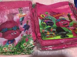Instock trolls goodies drawstring bag brand new