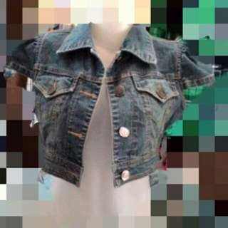 Jacket jeans gantung