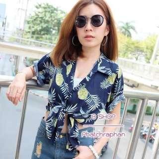 (pineapple)pineapple shirt
