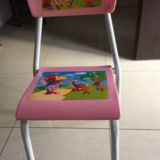 Toddler study chair