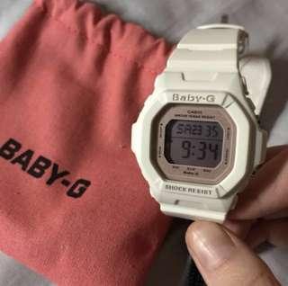 "CASIO BABY-G ""WHITE X ROSEGOLD"" 手錶 watch"