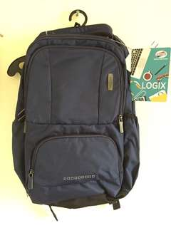 American Tourister Backpack Navy Logix 03