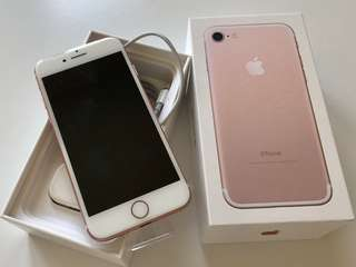 iPhone 7 new rose gold 129GB