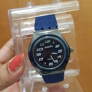 Jam tangan swatch navy