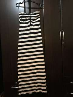 Maxi Dress (Stripes)