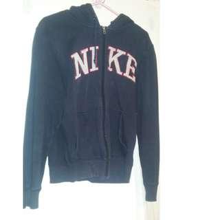 Nike dark blue small hoodie - fits size 38-40
