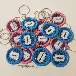 Personalized Gifts @ keychains (Party favour Set1-Reserved)