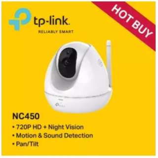 TP-LINK NC450 HD Pan Tilt Wi-Fi Camera NIGHT VISION