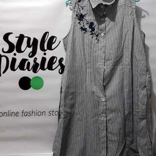 Strechable Stripes Dress New