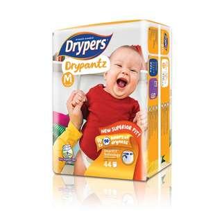 Drypers Drypantz M(3x60s) with Pororo blanket
