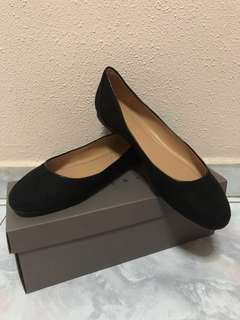 BN C&K Black Ballerina Flats