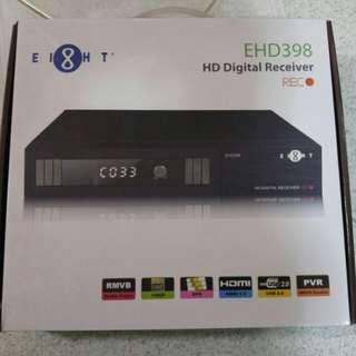 Ei8ht HD digital receiver