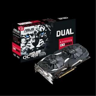 Asus RX580 Dual 4GB