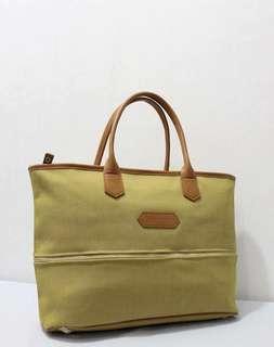 💯% Authentic Longchamp expandable toile bag