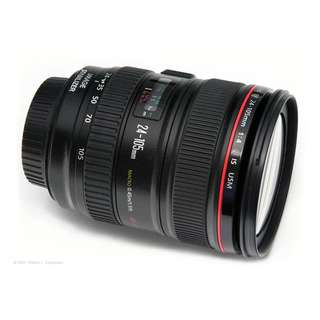 Canon 24-105 f/4 IS L LENS