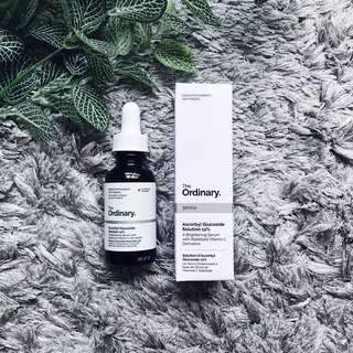 The Ordinary: Ascorbyl Glucoside Solution 12% (30ml)