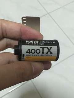Kodak 400 TX B&W Film