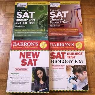 BRAND NEW SAT Prep Books