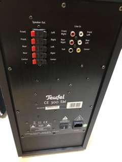 Teufel Home Cinema System 5.1 Compact speakers