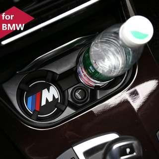 BMW M Sports Rubber Anti Slip Cup Holder Mat