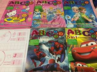 Instock 5in1 Coloring And Stickers Book Brand New limited Stock only !!!