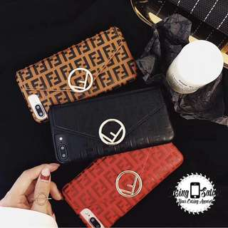 Fendi Mark Slot Card Case Collection