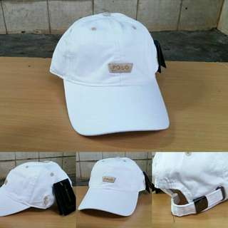 Topi Polo White Import Premium BNWT