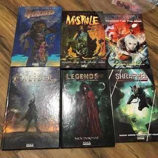Radical comics graphic novels