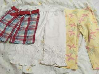 Bundle short and pants