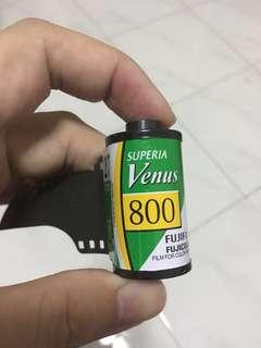 Fuji superia Venus 800 film