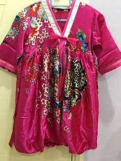 Kid Silk Hanbok (Korean Traditional Dress)