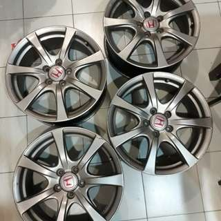 original Honda Civic Type R FD2R rim 18