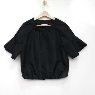 PRADA黑色娃娃防風短外套