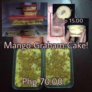 Mango Graham Cake
