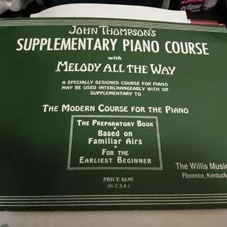John Thompson's Piano 初級鋼琴書