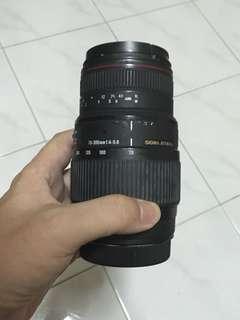 Sigma 70-300 f/4-5.6 for Canon