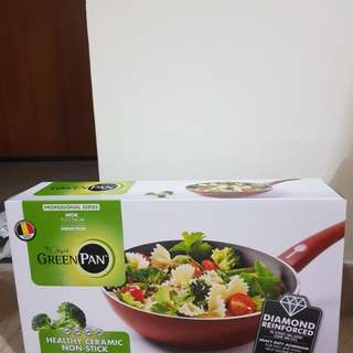 Green Pan 24cm wok