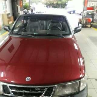Saab 2.0T 敞篷車全車大保養完成