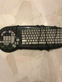 Wolf claw gaming keyboard