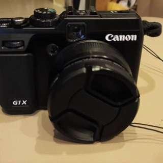 Canon G1X  非常的新 (送$1500的鏡頭蓋子)
