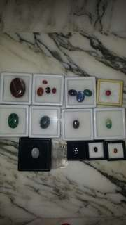 All jade and stones to let go