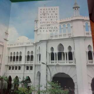 Malaysia 1992 Mint Stamps In Book