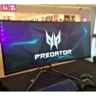 Acer Predator X34P 34-Inch UltraWide QHD IPS 1900R Curved Monitor up to 120Hz Refresh Rate (OC) X34 X34A ( Latest Model ) 3 yrs Local OnSite Warranty