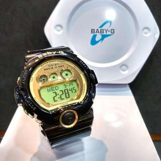 * FREE DELIVERY * Brand New 100% Authentic Casio BabyG Black Gold Baby G Digital Ladies Watch Baby-G BGD6901 1 BGD6901-1DR