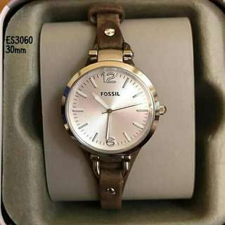 Fossil ES3060 Leather Watch