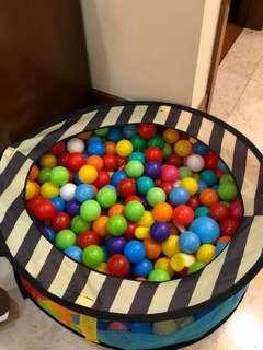 Kolam Bola ELC + bolanya penuh