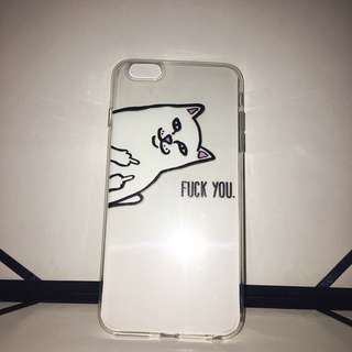 Iphone 6PLUS Case (Fck you Cat)