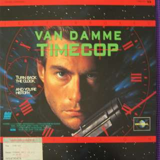 Laser Disc Movie - M11   Timecop