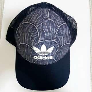 adidas originals時尚品牌logo休閒網帽 二手 專櫃 正品 絕版品